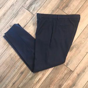 Navy Slim Fit Dress Pants